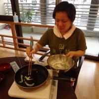 天ぷら作り(^o^)